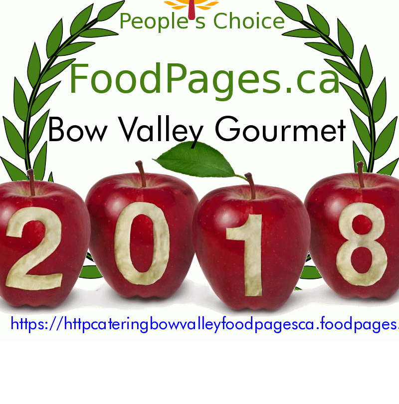 Bow Valley Gourmet FoodPages.ca 2018 Award Winner